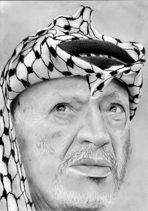 Yasser Arafat by maaroufi